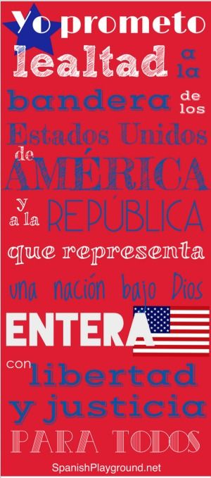 photograph relating to Pledge of Allegiance in Spanish Printable identify Pledge of Allegiance inside Spanish Spanish for Young children Spanish
