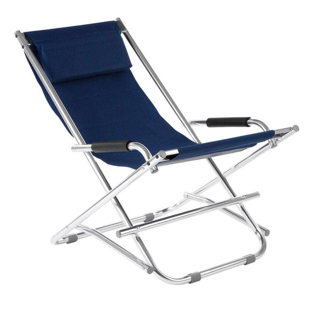 Folding Garden Chair Aluminium Frame 100 Polyester W Polyurethane Covering