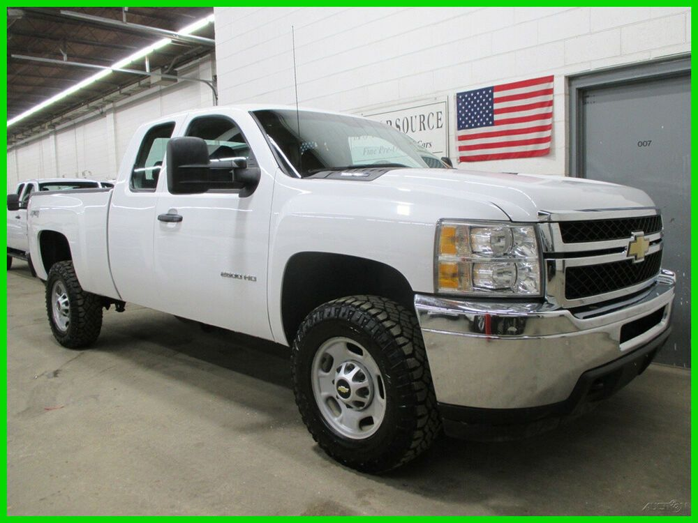 Details About 2012 Chevrolet Silverado 2500 4wd Ext Cab Short Bed