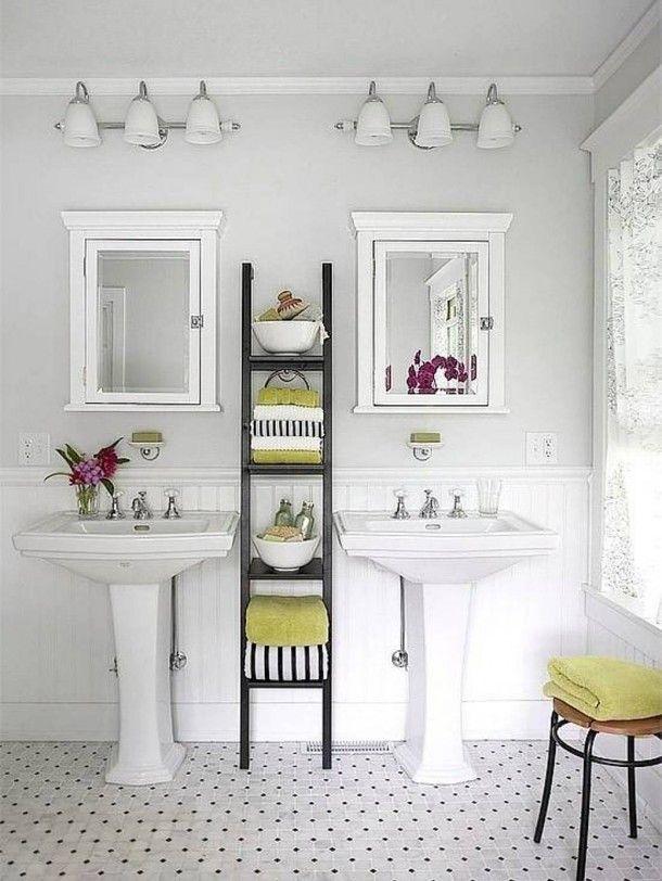 Clever Pedestal Sink Storage Design Ideas Pedestal Sink - Bathroom pedestal sink storage cabinet for bathroom decor ideas