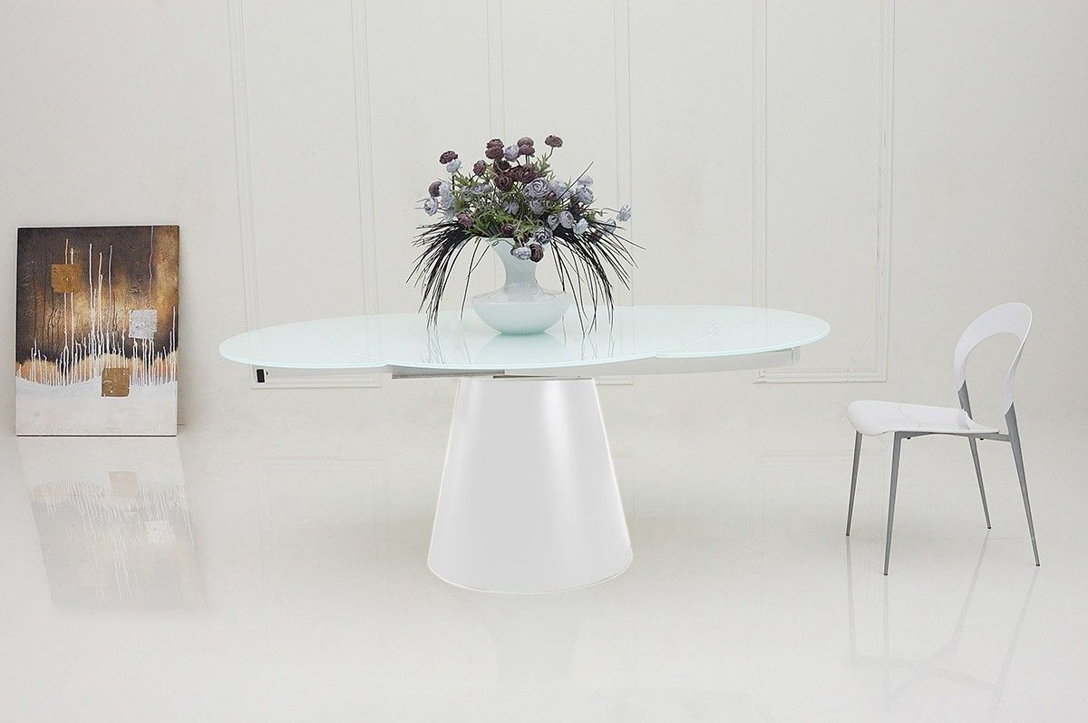 Good Modern Round Extendable Dining Table New 27 About Remodel