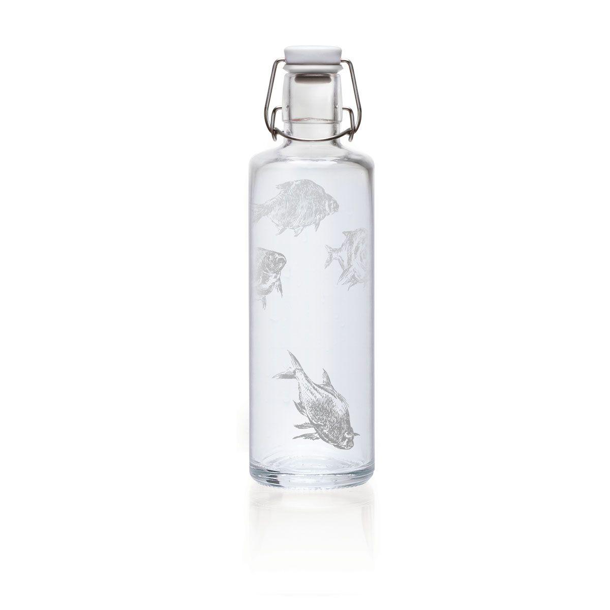 Soulbottles Soulbottle Silberfische 1 Liter Trinkflasche Aus Glas 37 90 Eur Mit Bildern Trinkflasche Aus Glas Soulbottle Flaschen