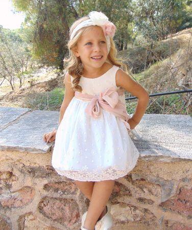 11e1ff23ec6 Βαπτιστικο φορεμα | βάπτιση | Wedding dresses, Flower girl dresses ...