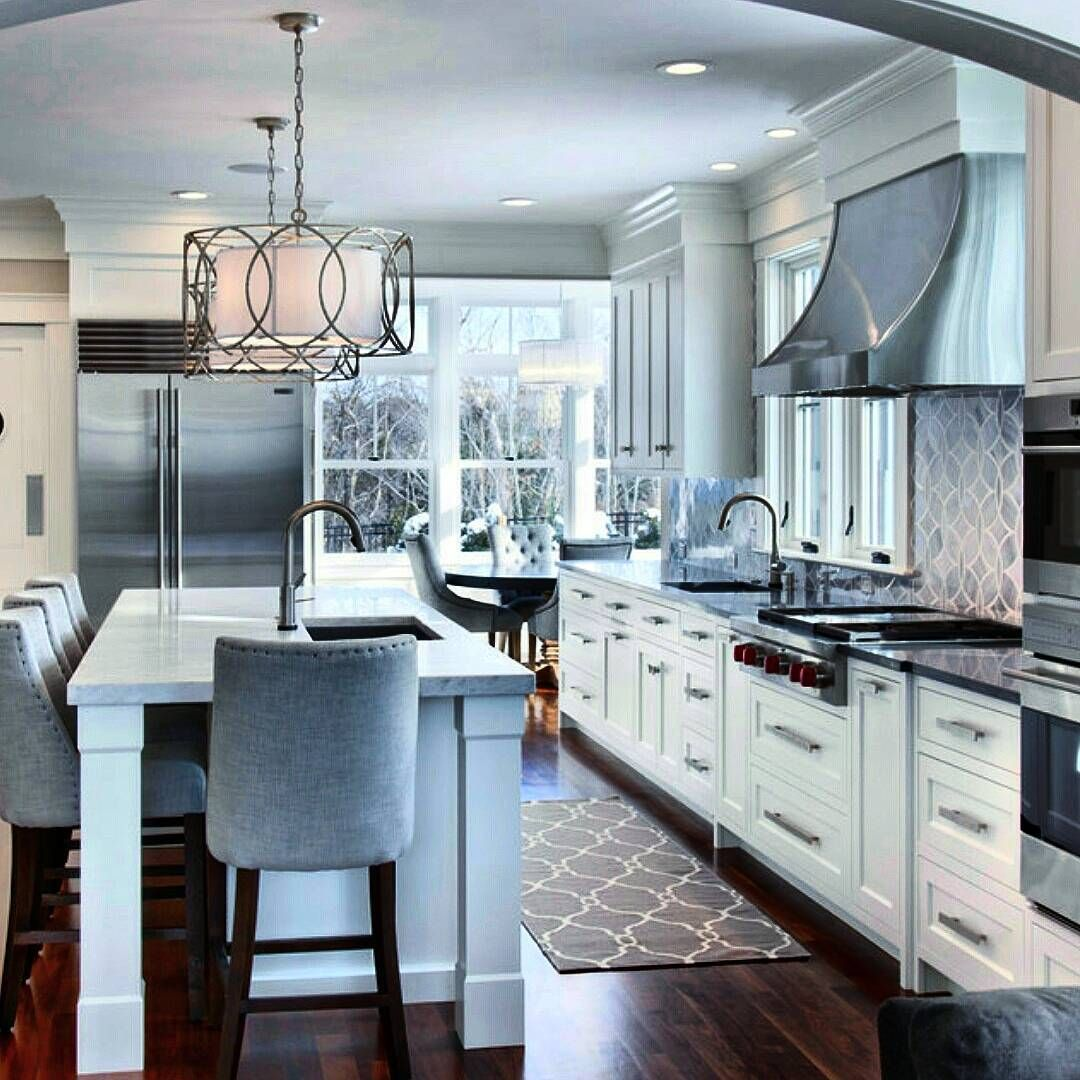 Pin von Elaine R auf Inspirational Kitchens | Pinterest | Küche