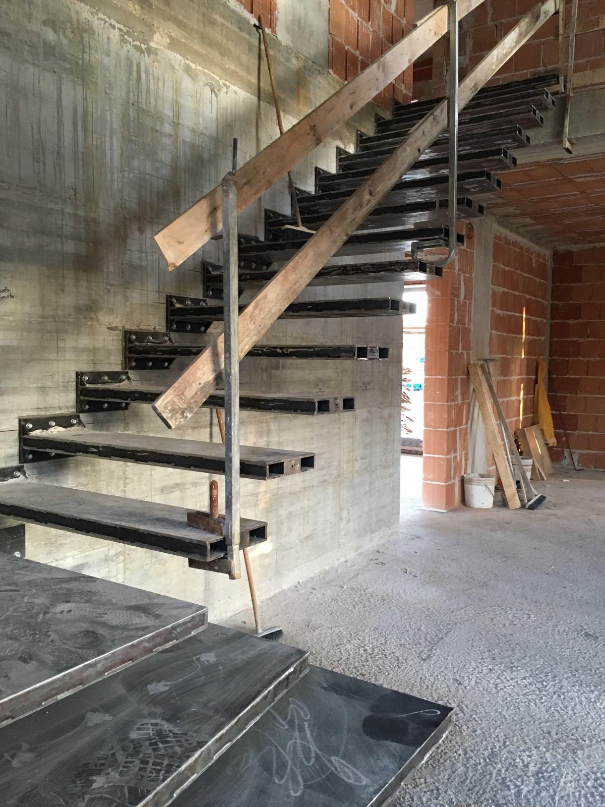 Scala Strutturale DM · Steel StairsStair CaseOsmanPrefabHouse Design Residential ...