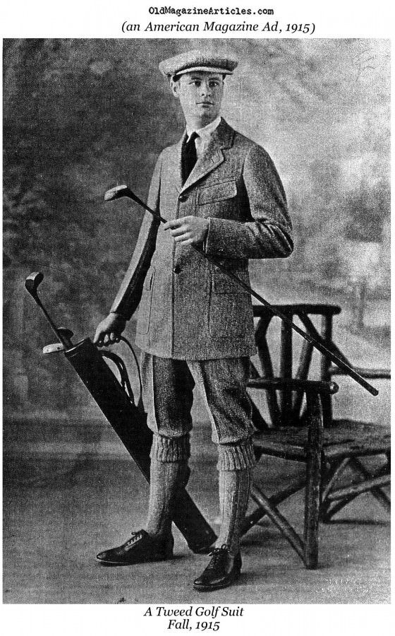 Tweed Golf Suit (1915). (scheduled via http://www.tailwindapp.com?utm_source=pinterest&utm_medium=twpin&utm_content=post1397621&utm_campaign=scheduler_attribution)