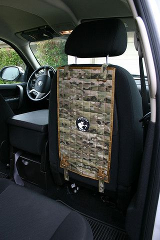 Outfit Your Vehicle With Extra Behind The Seat Storage Wilde Built Tactical MOLLE Back Panels A Durable Removable Less Visible And More