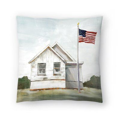 East Urban Home American Flag Throw Pillow in 2018 Products