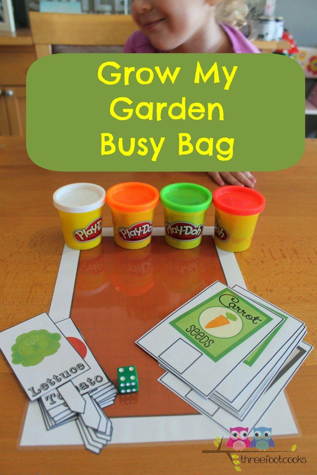 Grow My Garden Busy Bag