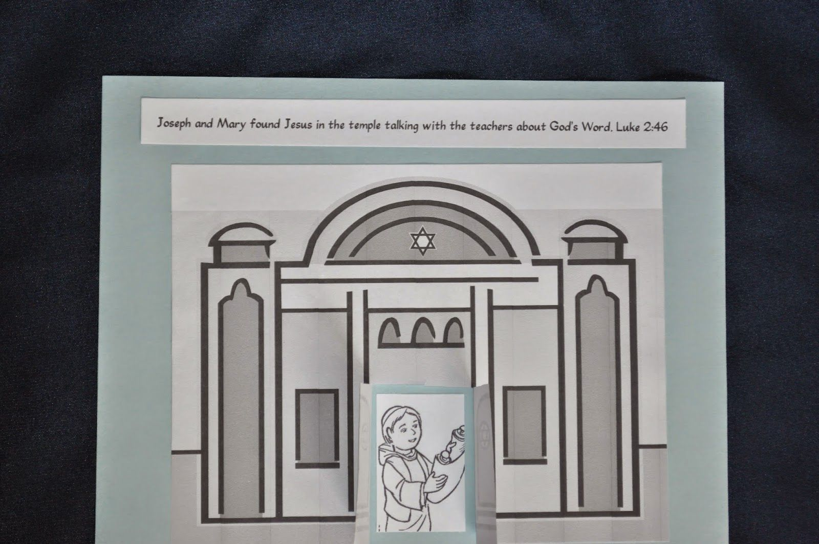 The Boy Jesus In The Temple Craft