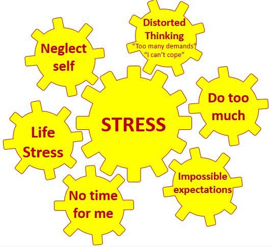 Vicious Cogs Of Stress Example Health Emotional Wellness