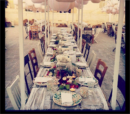 Apulian wedding reception for justin timberlake and jessica biel weddings in puglia for Puglia garden city ny