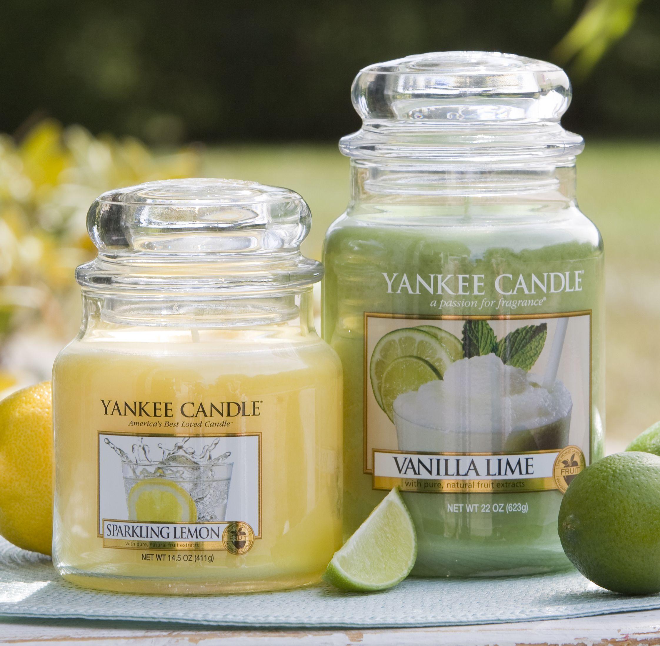 Vanilla lime sparkling lemon yankeecandle myrelaxingrituals