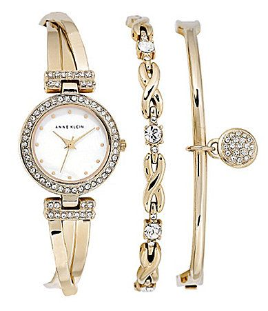 309a04ccb Anne Klein Ladies 3Piece Watch Set #Dillards | Accessorize in 2019 ...