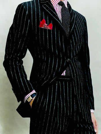 81d2371c90b4 I love a man in a pinstripe suit (this is a Ralph Lauren). Ralph Lauren  Purple Label ...
