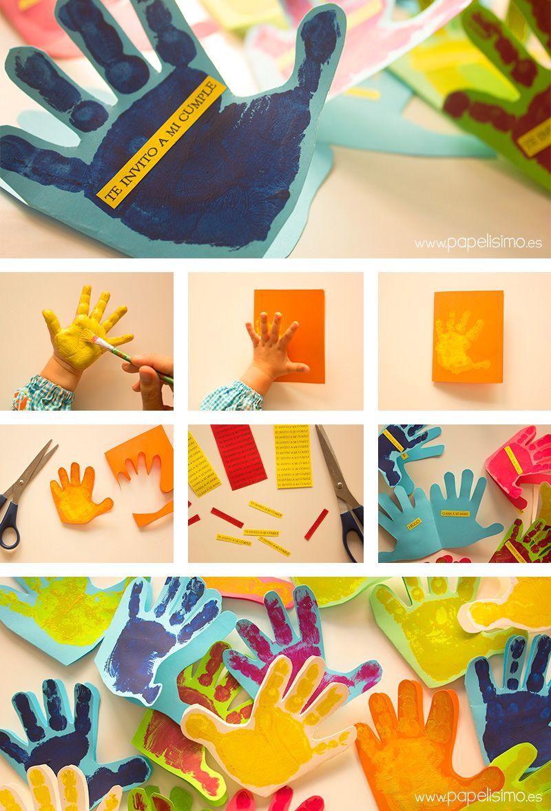 Tarjetas de cumpleaños para niños hechas a mano Papelisimo Pinterest Cards and Craft