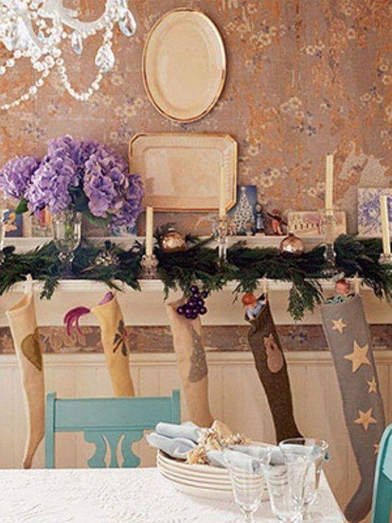Le charme de la décoration de Noël vintage en 25 idées Christmas tree