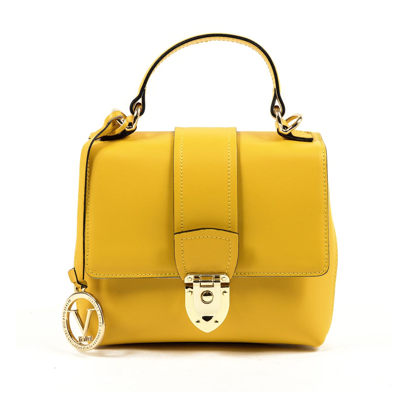 V 1969 Italia Womens Handbag Yellow Laos By Versace 19 69 Abliamento Sportivo Srl Milano Details N532 52 Ruga Giallo Off White Color