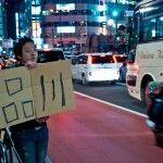 Hitchhiking to Shinagawa © Alexis Wuillaume