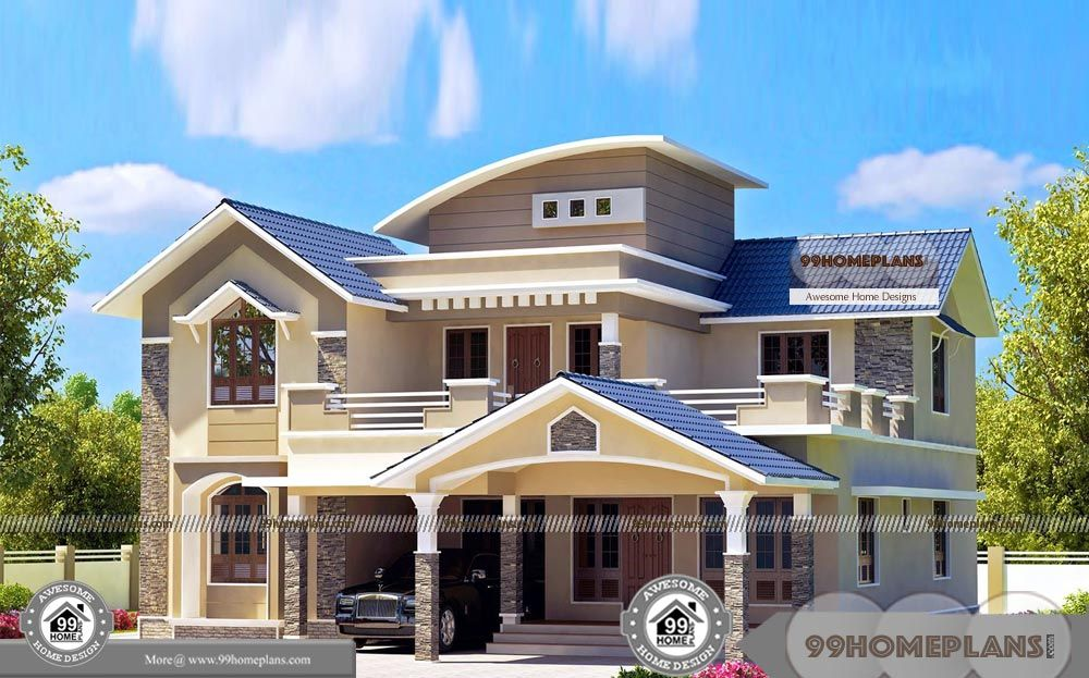 3d Bedroom Planner Online Free And Very Stylish Home Plans With Elevation Indian Model Double Floor Simple C Kerala House Design Bedroom Planner House Design