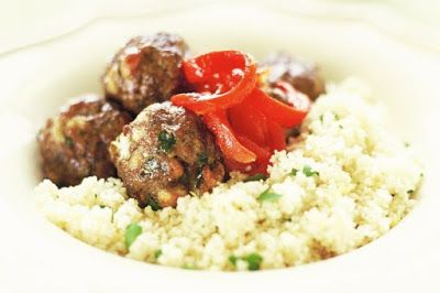 Meatballs with couscous recipe arabic food recipes forumfinder Choice Image
