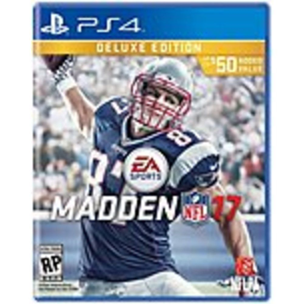 EA 014633371017 Madden NFL 17 Deluxe Edition Sports PS4