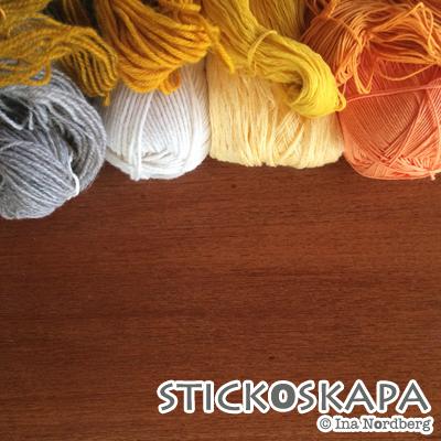 Stickoskapa: Färga med gurkmeja, del 2