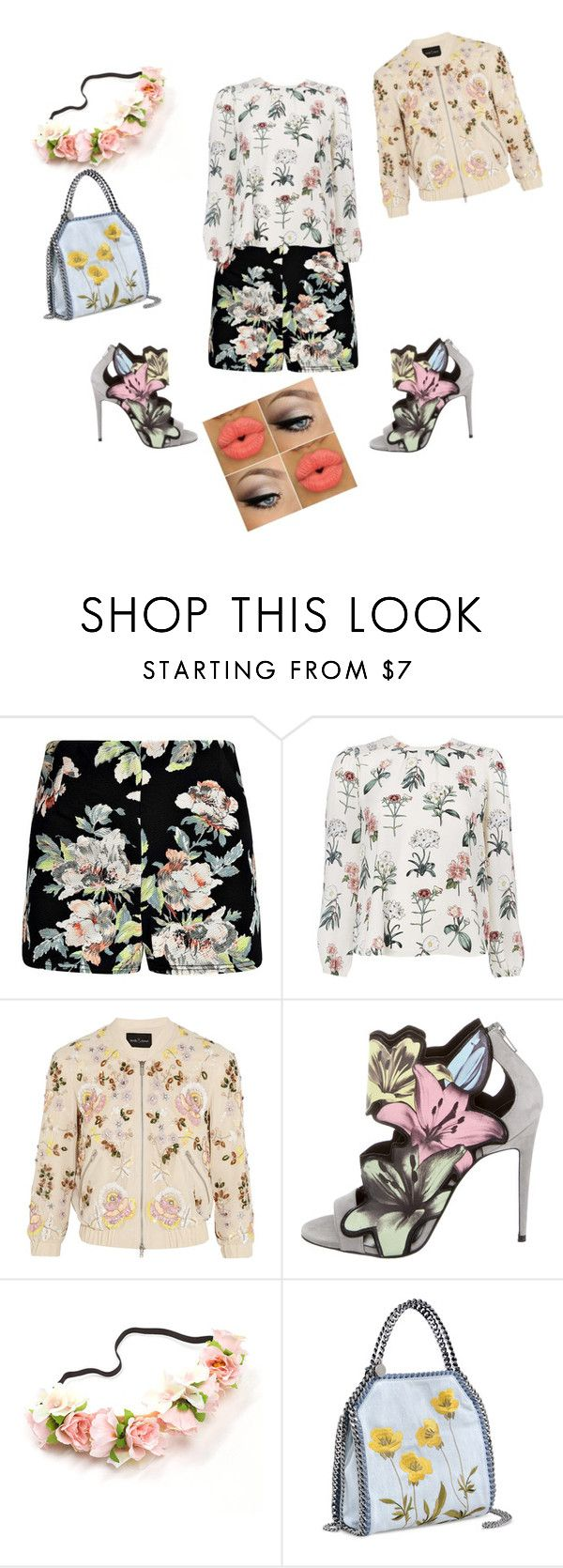 """""""Untitled #15"""" by kaminceto ❤ liked on Polyvore featuring Boohoo, Needle & Thread, Pierre Hardy and STELLA McCARTNEY"""