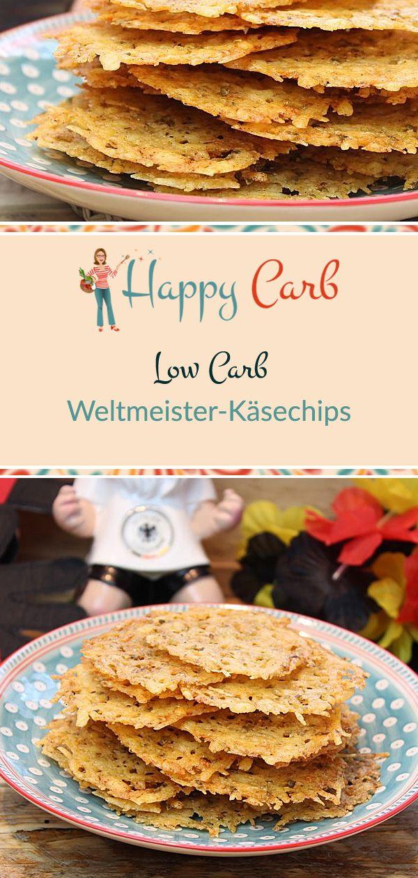 Weltmeister-Käsechips - Happy Carb Rezepte