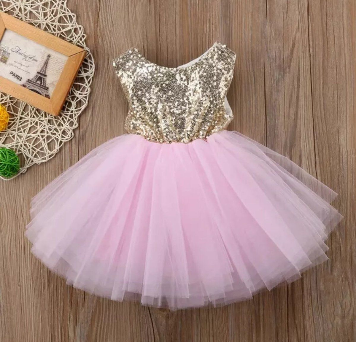 UK Baby Girl Princess Dress Baby Party Wedding Bridesmaid Tutu Bow Dresses Skirt