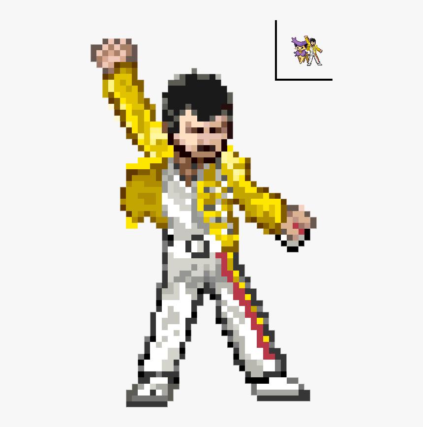 Transparent Freddie Mercury Png Freddie Mercury Pixel Art Minecraft Png Download Is Free Transparent Png Image Pixel Art Minecraft Pixel Art Freddie Mercury