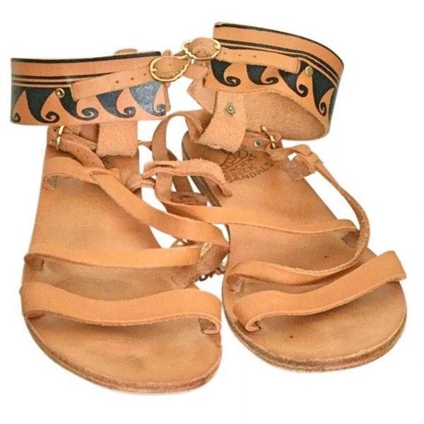 Pre-owned - Leather sandal Ancient Greek Sandals zmb2emSKGY