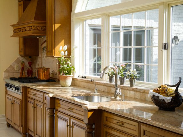 Large Kitchen Windows Over Sink Rustic Kitchens With Big Windows Part 23