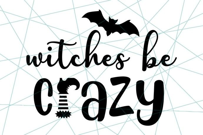 Download Witches be crazy | Witch, Cricut svg