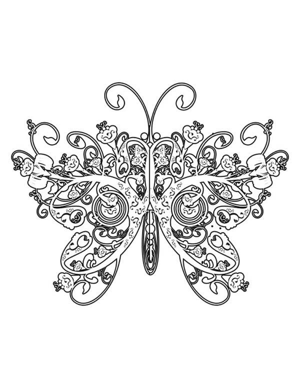 patterns and designs coloring pages - photo#26