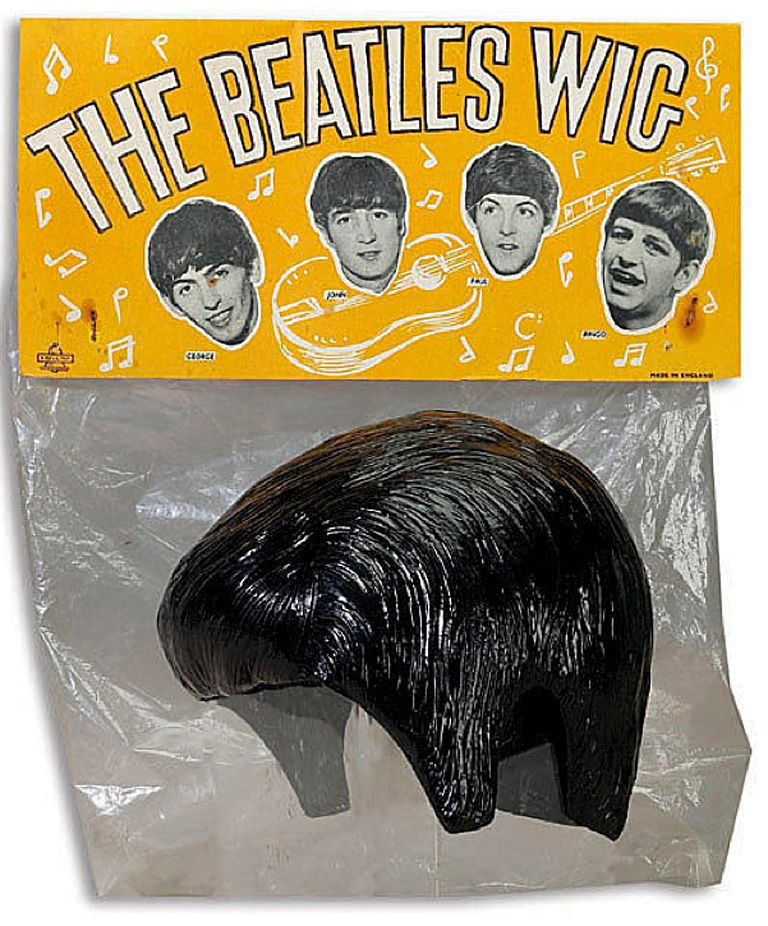 The Beatles Wig — I remember the fake hair Beatles wig (I bought one at the  theater when I was 9 years old and saw A Hard Day s Night) 5451ebebc35a