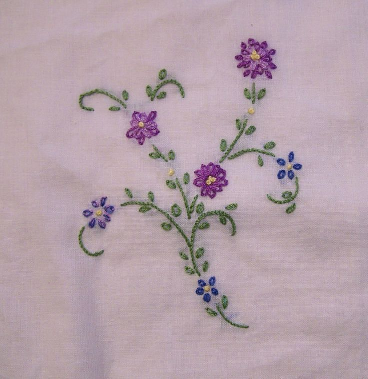 Free Simple Hand Embroidery Patterns Embroidery Stitches
