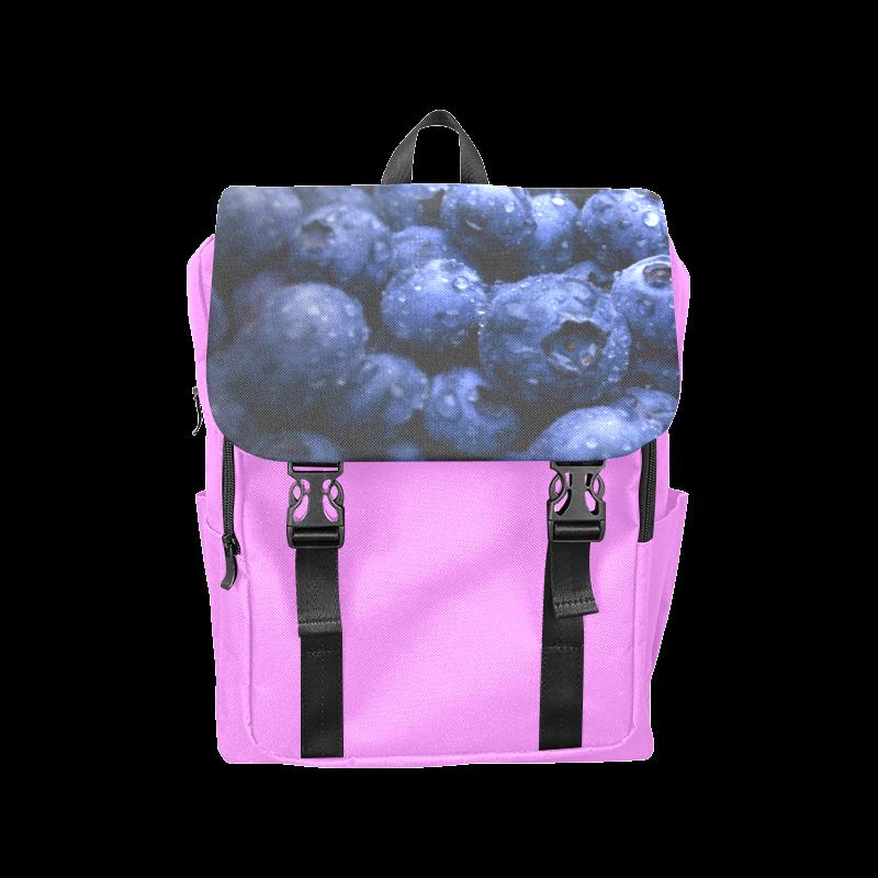 Blueberries Casual Shoulders Backpack. #FREEShipping #artsadd #lbackpacks #fruits
