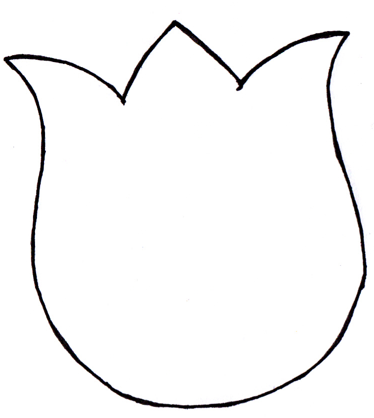 picture relating to Tulip Pattern Printable called Tulip Behavior ManuFatti: Terzo guidebook (oramai ci ho