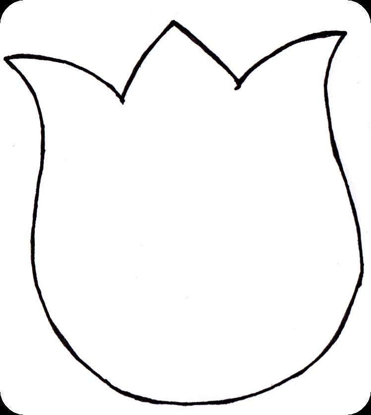 Inventive image pertaining to tulip template printable