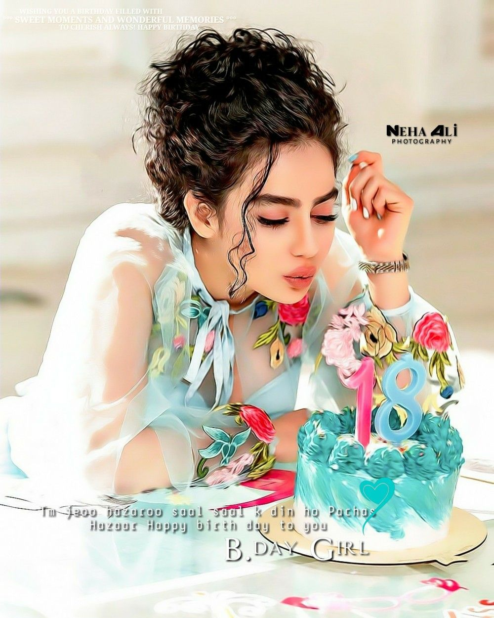 Pin By Neha Ali On My Creations Happy Birthday Girls Bday Girl Girl Birthday