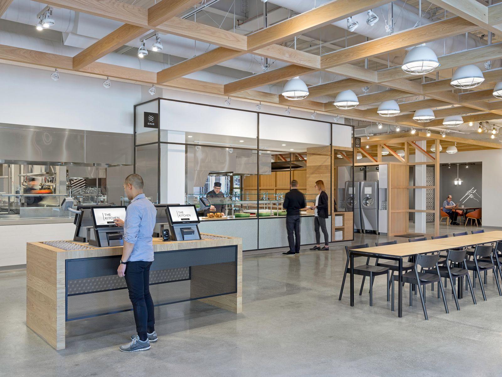 Office Tour: eBay Office Cafeteria – San Jose | Lovely ...