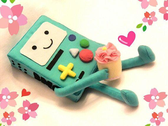 Kawaii Big Adventure Time BMO plushie plush toy doll 20 inches tall!!
