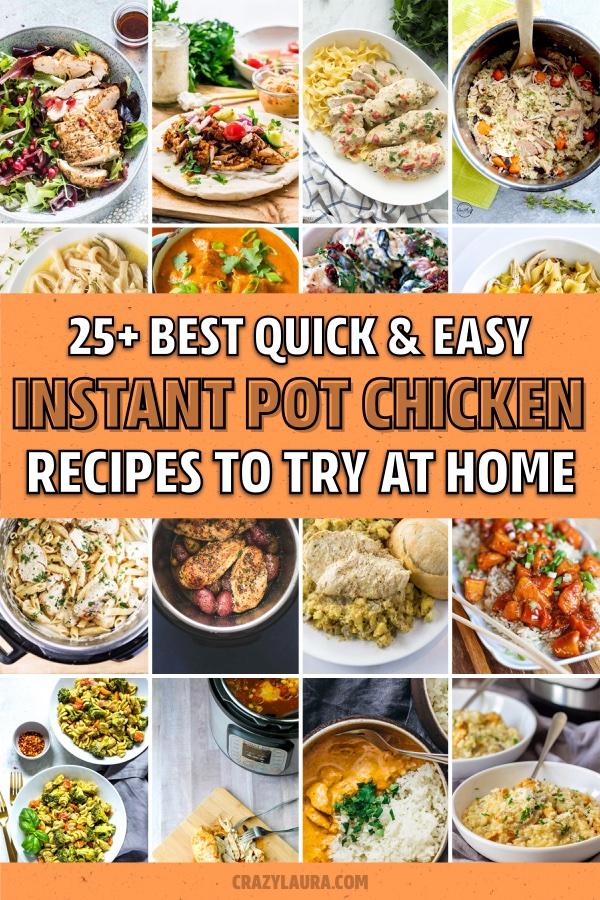 34 Best Instant Pot Chicken Recipe Ideas For 2020 Crazy Laura Instant Pot Dinner Recipes Easy Instant Pot Recipes Instant Pot Chicken