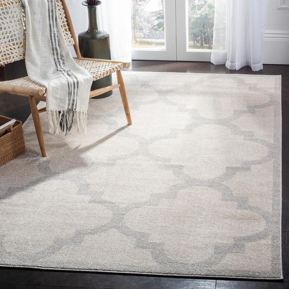 Safavieh Amherst Beige Light Gray 9 Ft X 12 Ft Area Rug Amt423e 9 Area Rugs Beige Area Rugs Modern Rugs