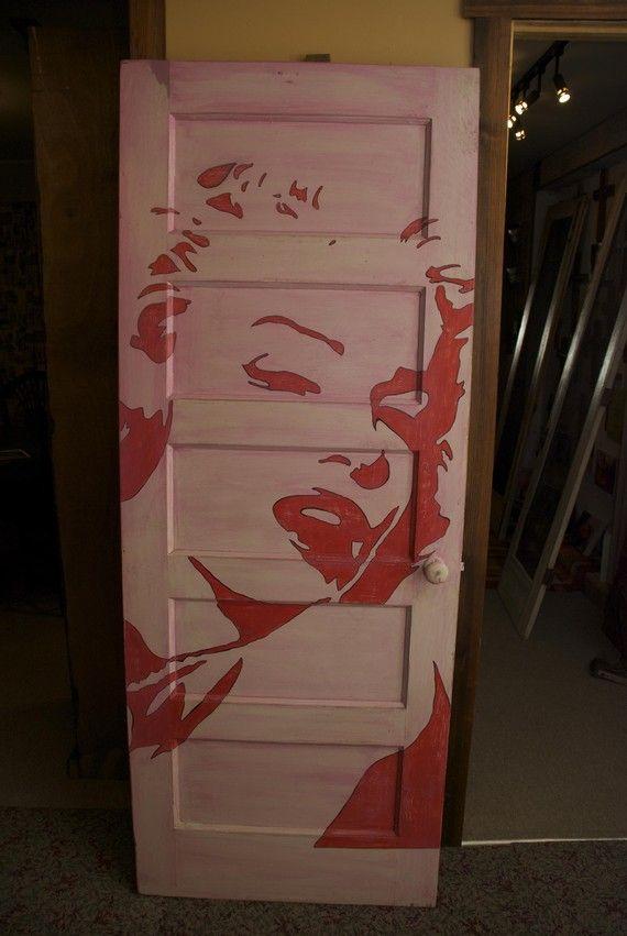 Um Yes Please Marilyn Monroe Pop Art On Antique