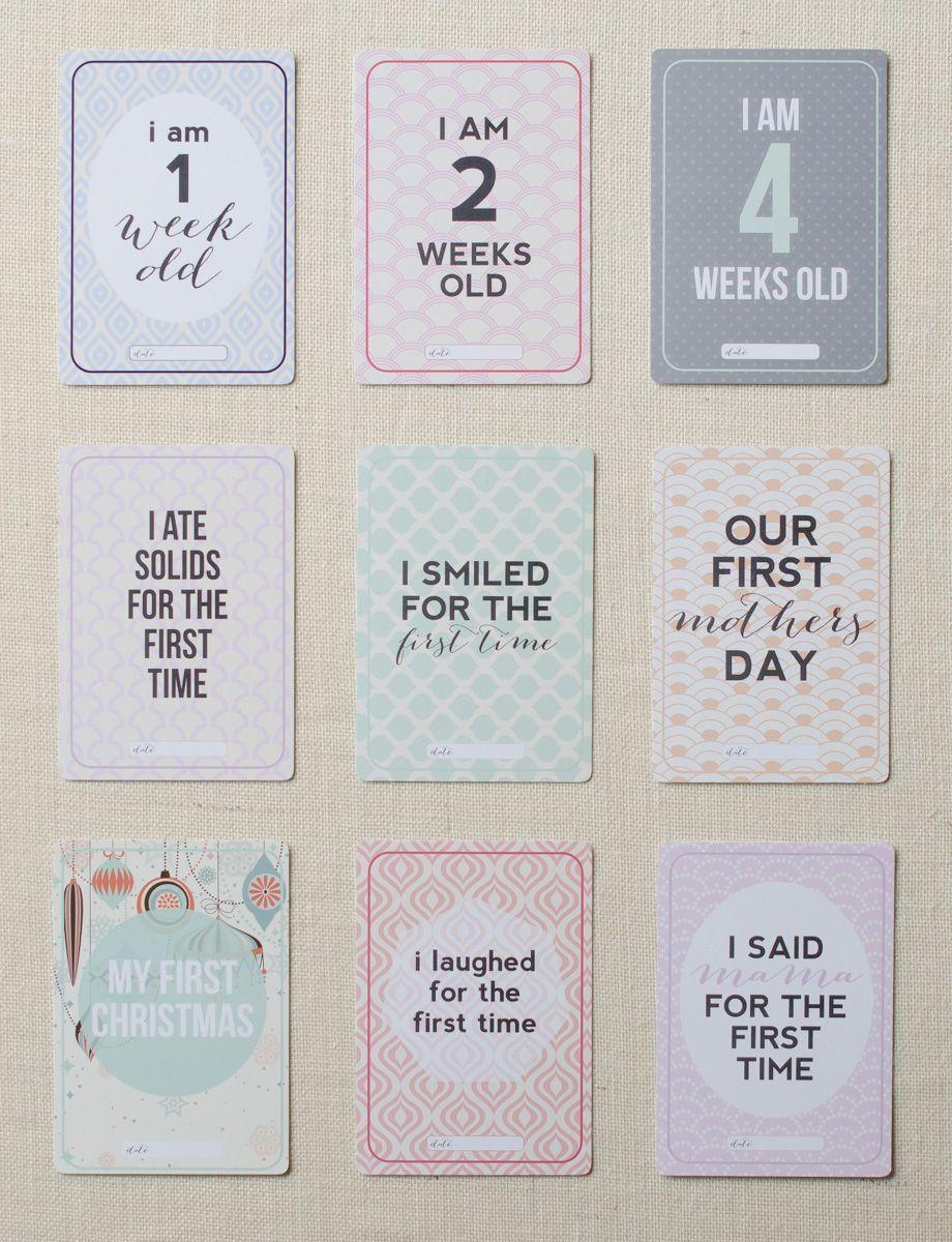 This Mama Does Baby CardsAlternative Funny Milestone Baby CardsUK