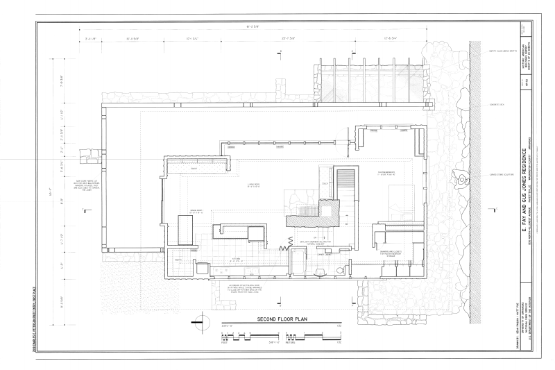 File Second Floor Plan E Fay And Gus Jones House 1330 North Hillcrest Avenue Fayetteville Washington County Washington County Hillcrest Thorncrown Chapel