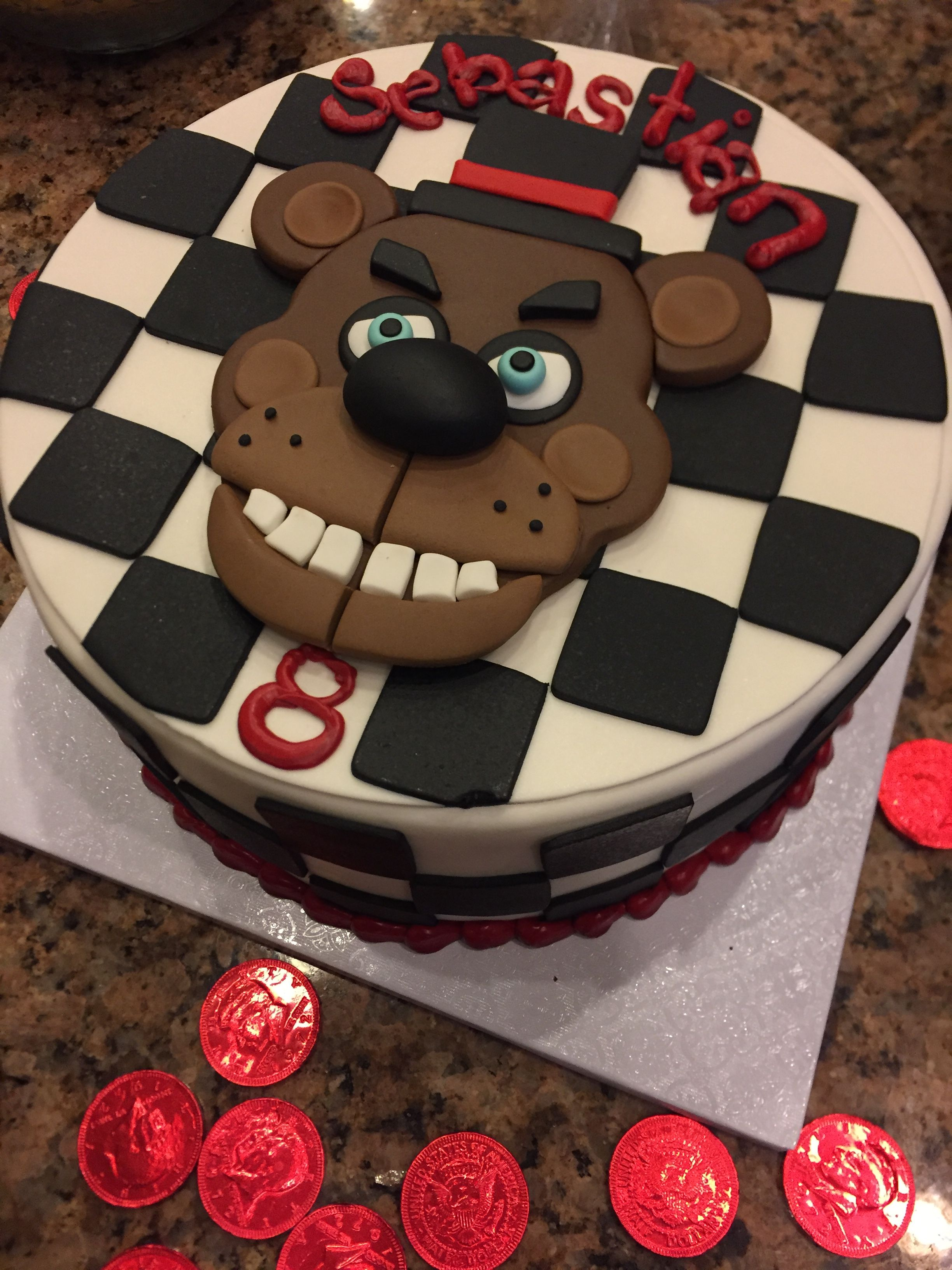 Five Nights At Freddys Cake Five Nights At Freddys Cake