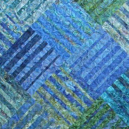Underground Blues pattern by Janine Burke